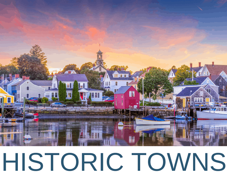 AMERICAN HISTORIC TOWNS