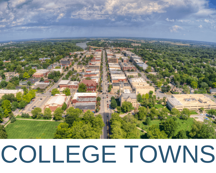 BEST COLLEGE TOWNS IN AMERICA