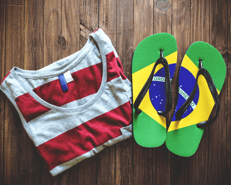 Brazil Souvenirs and Brazil Gifts - What to Buy in Brazil - Brazilian Flip Flops