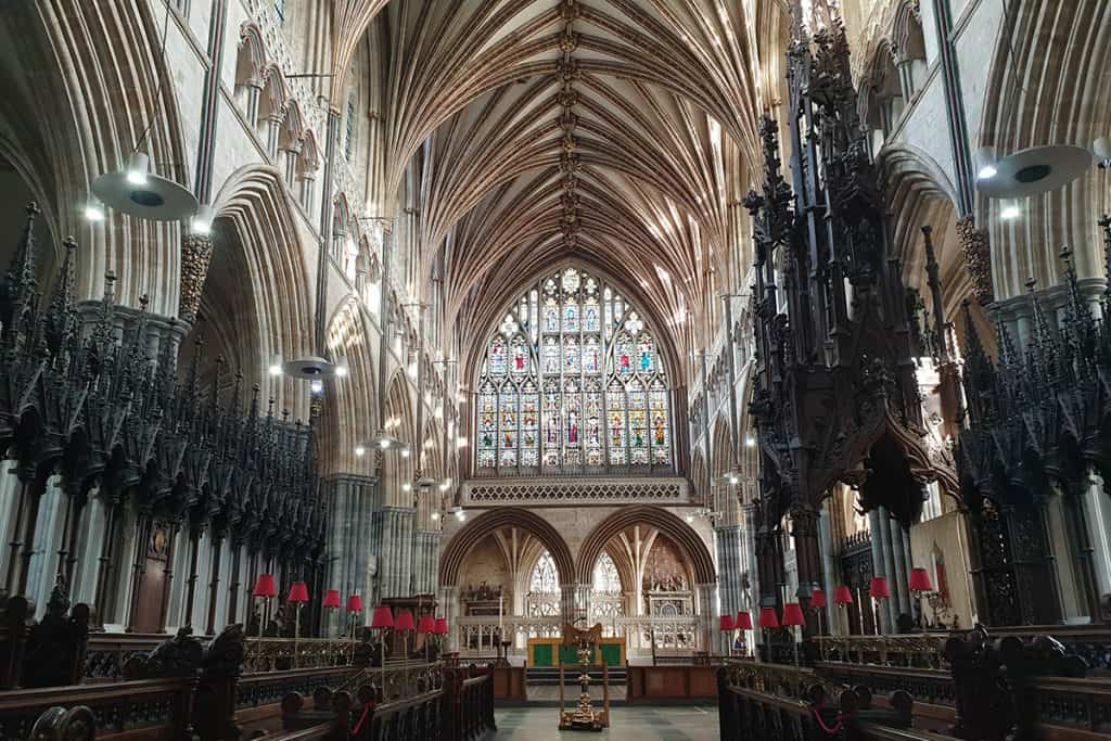Exeter Cathedral Inside