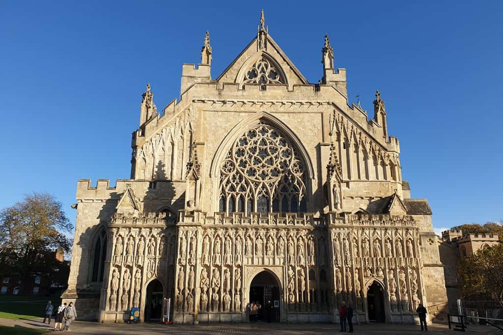 Exeter Cathedral Outside