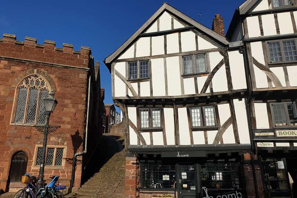 Medieval Buildings in Exeter