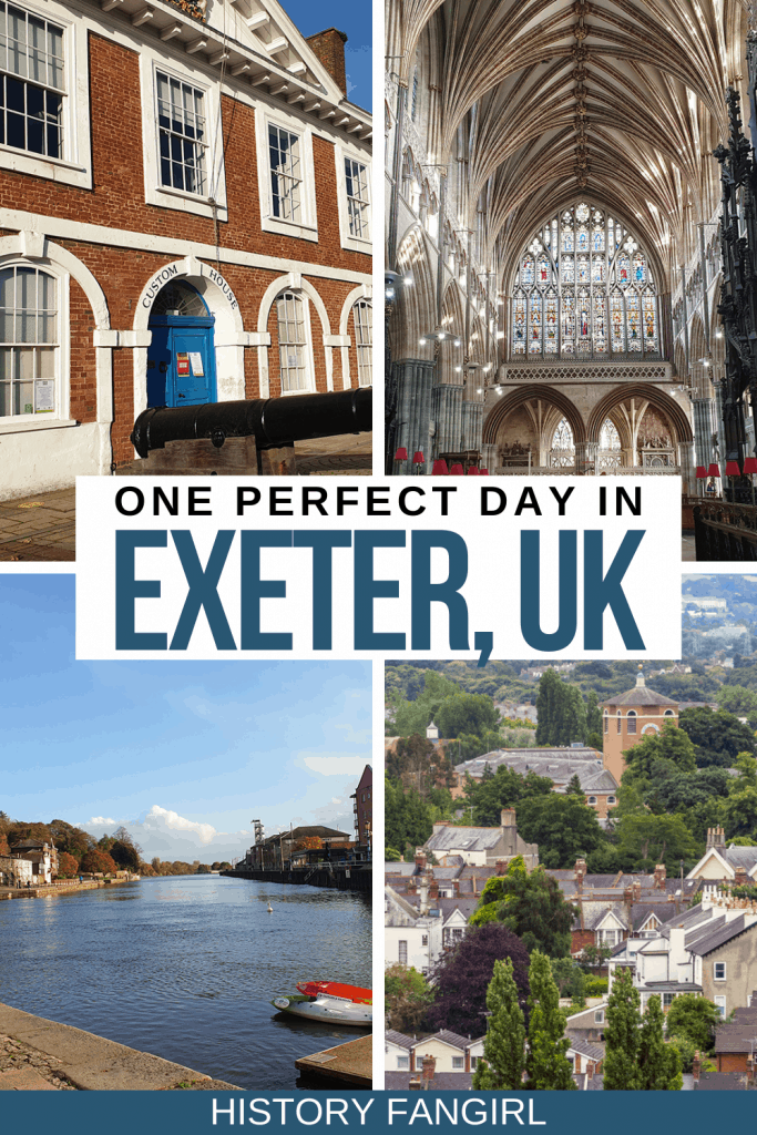 One Day in Exeter Itinerary
