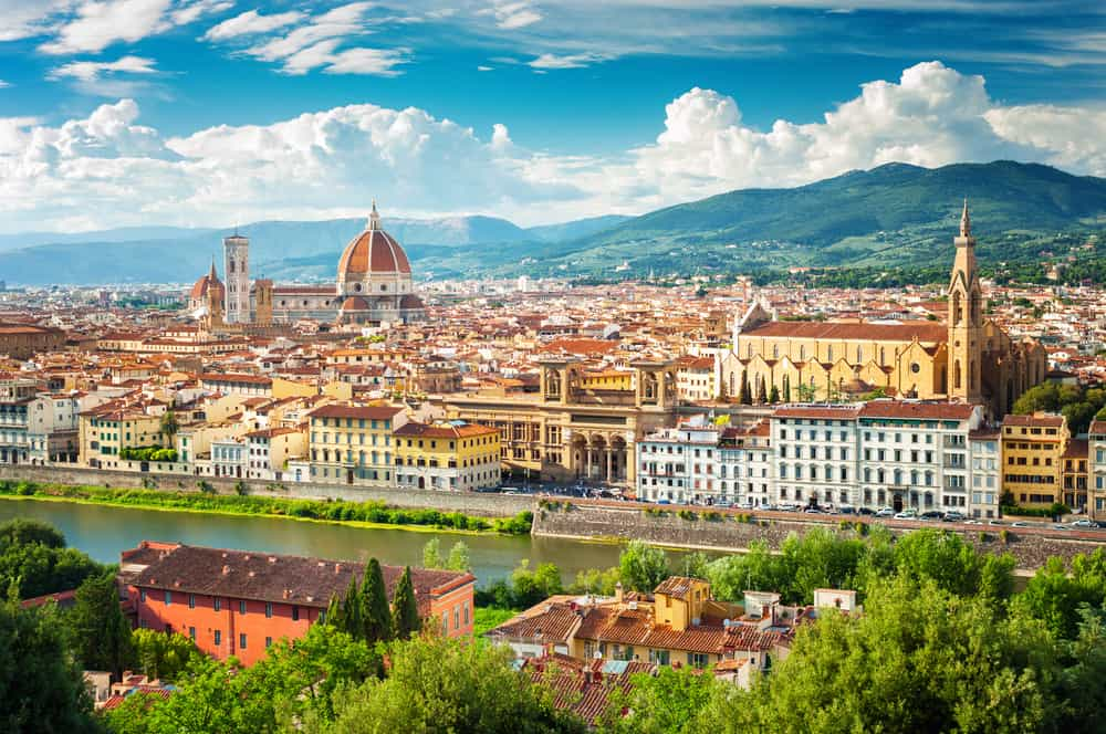 Florence,(firenze),Cityscape,,Italy.