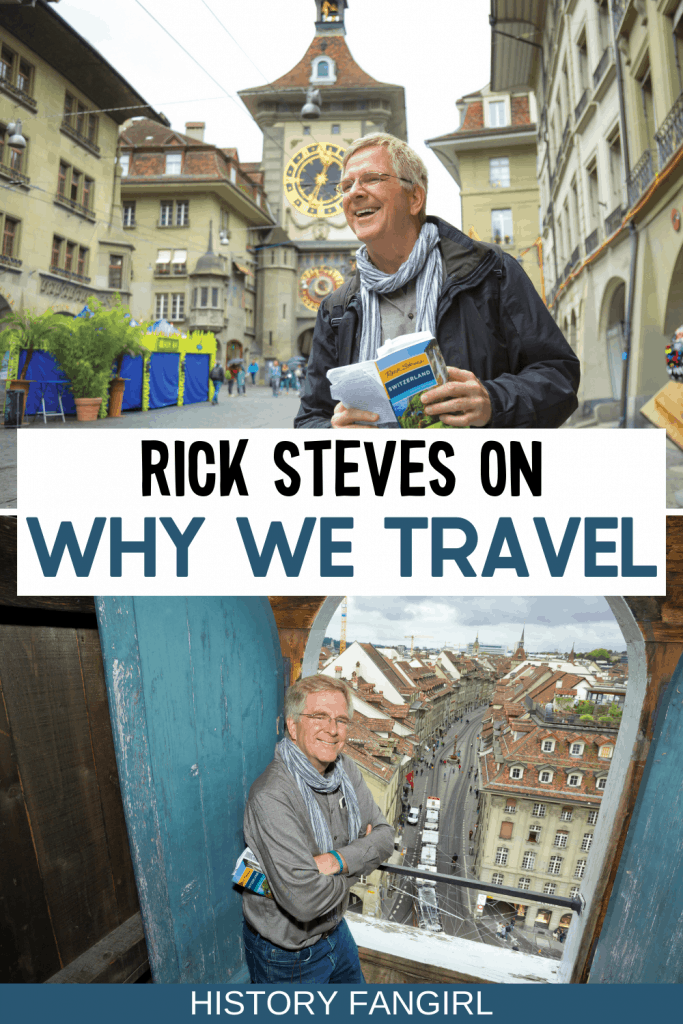 Interview With Rick Steves on Why We Travel [Rick Steves Interview for the Rick Steves Over Brunch Podcast