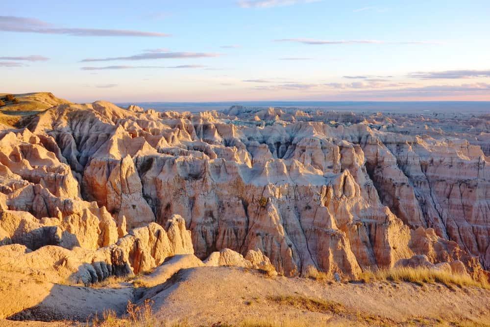 Badlands,National,Park,In,South,Dakota