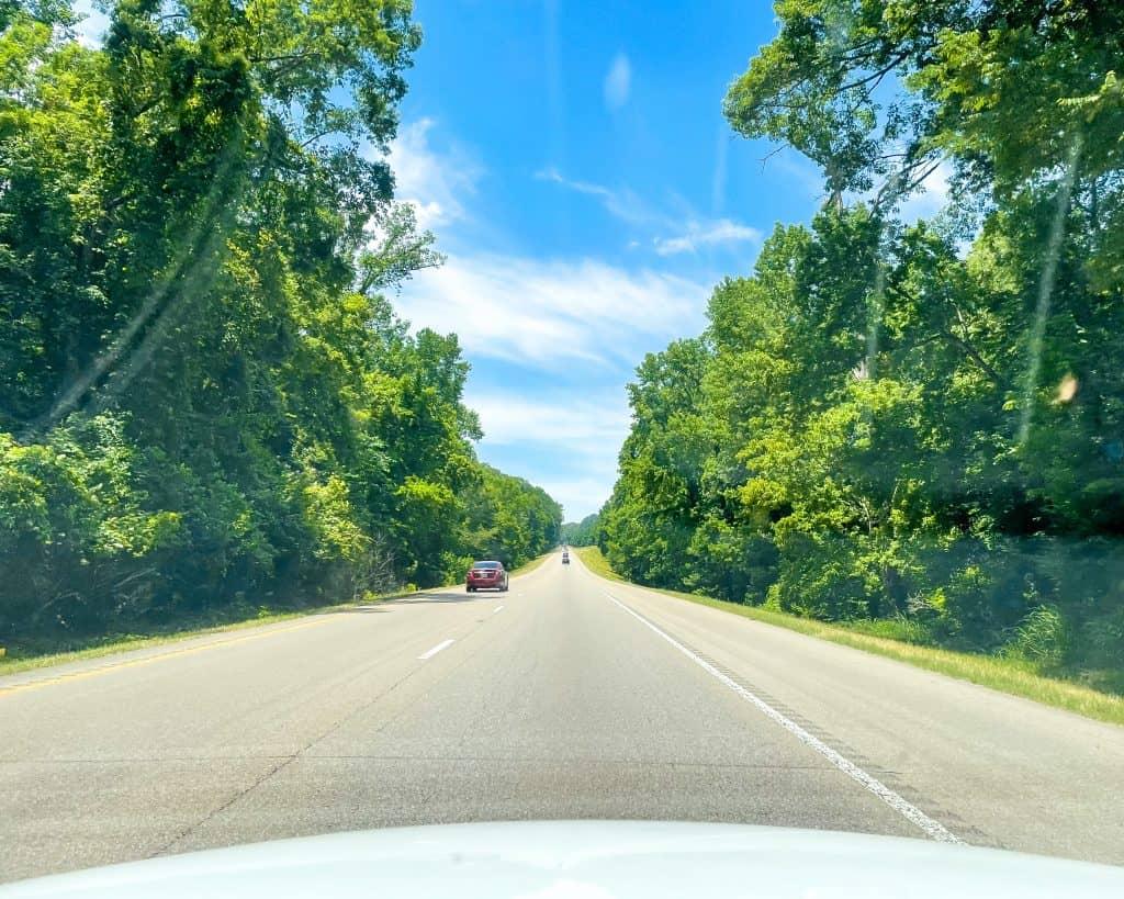 Mississippi - Jackson - Driving Through Mississippi from Jackson to Vicksburg