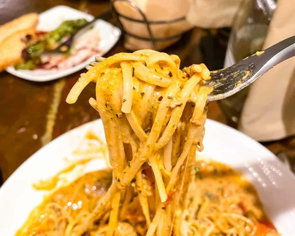 Mississippi - Jackson - Bravo! Restaurant - Pasta Dinner