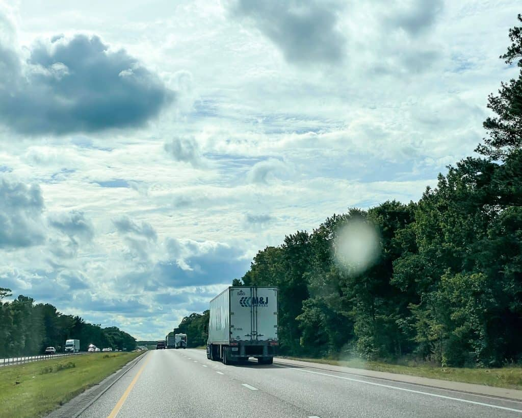 Mississippi - Driving from Selma to Jackson