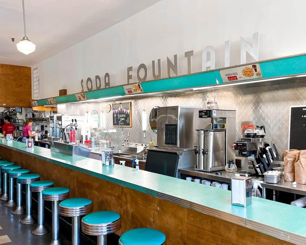 Mississippi - Jackson - Fondren - Brent's Drugs Restaurant Original Soda Fountain