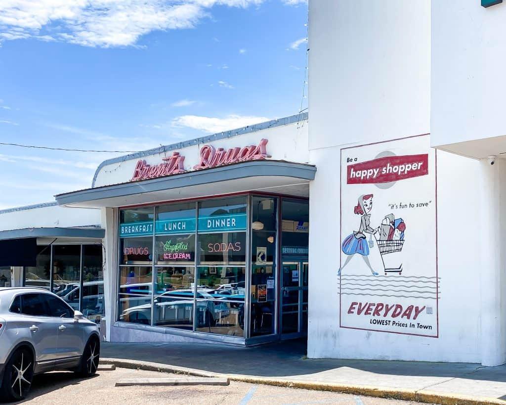 Mississippi - Jackson - Fondren - Brent's Drugs Restaurant