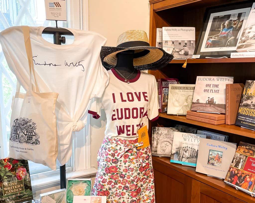 Mississippi - Jackson - Belhaven Historic District - Eudora Welty House and Garden - Gift Shop - Jackson Souvenirs