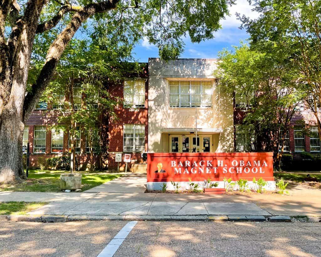 Mississippi - Jackson - Barack Obama Magnet School on North Congress