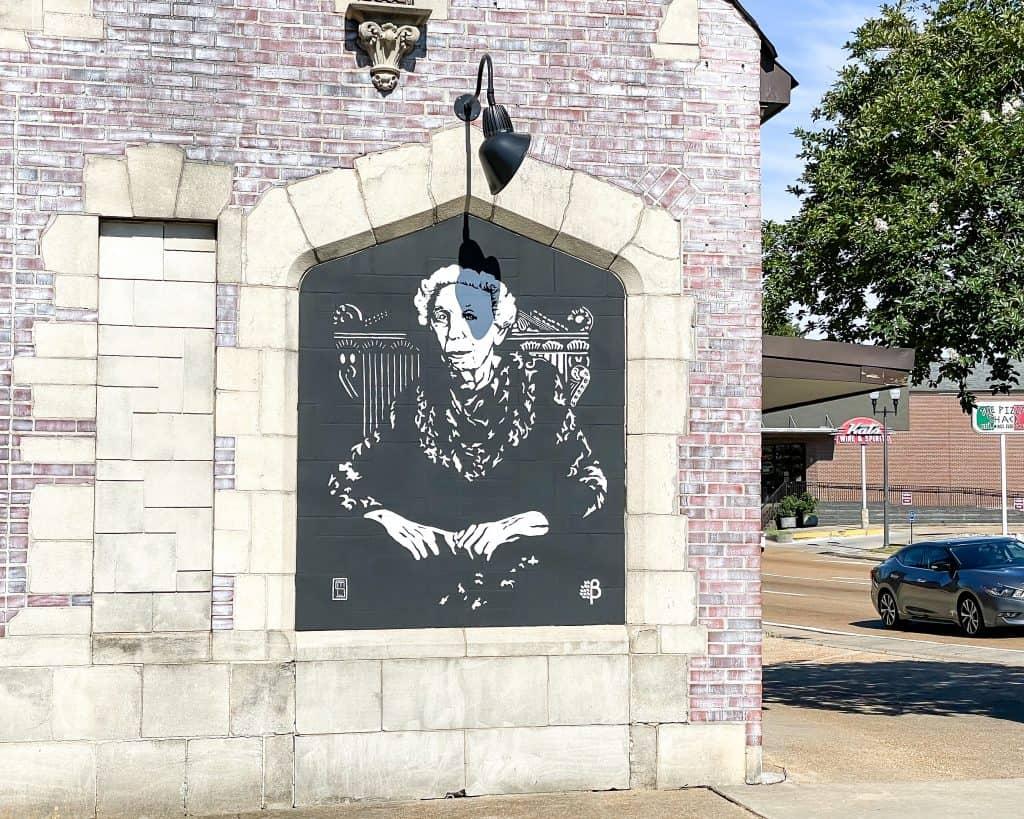 Mississippi - Jackson - Corner Market - Eudora Welty Mural