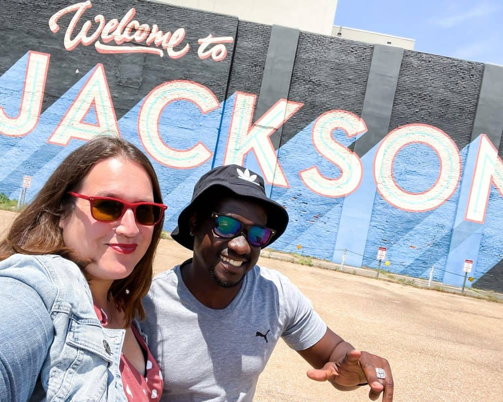 Mississippi - Jackson - Welcome to Jackson Mural - Stephanie and Valentine