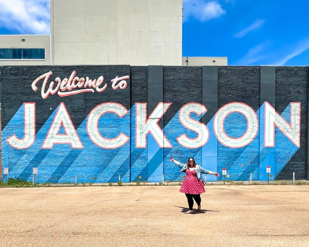 Mississippi - Jackson - Welcome to Jackson Mural - Stephanie