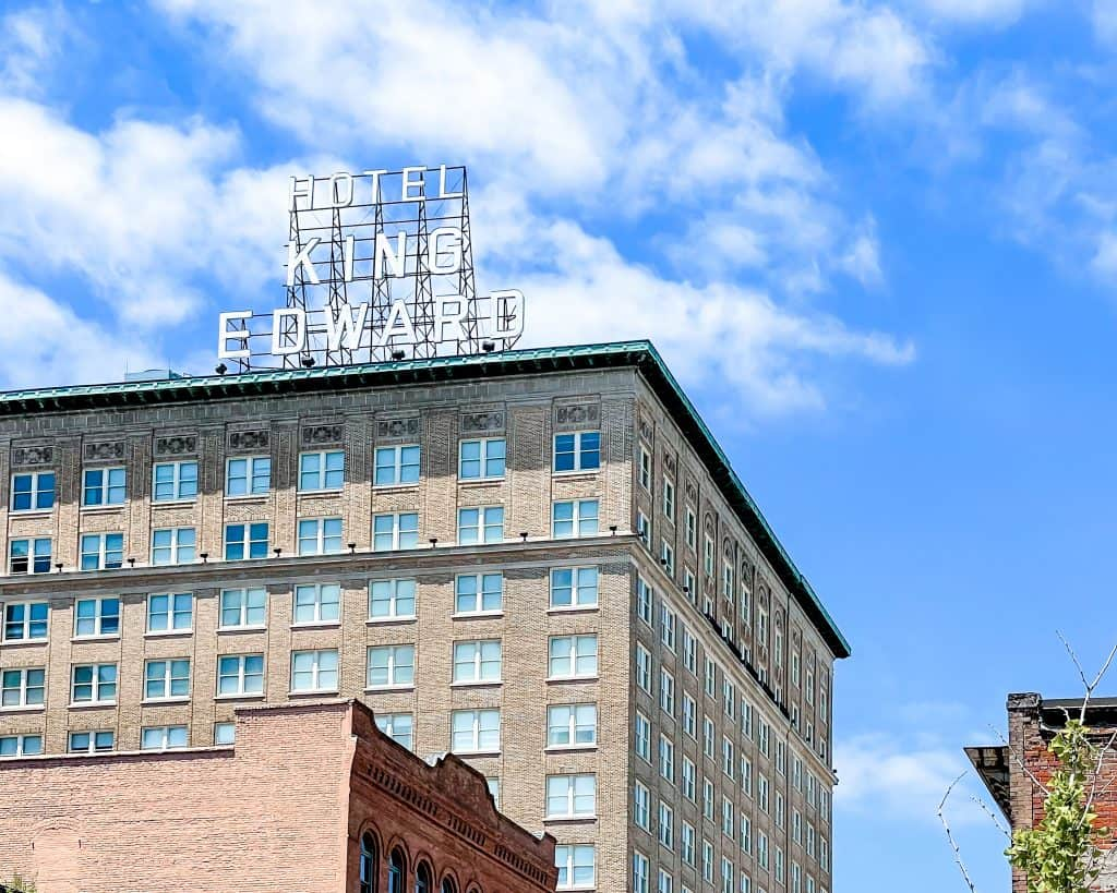 Mississippi - Jackson - Downtown Jackson - Hotel King Edward