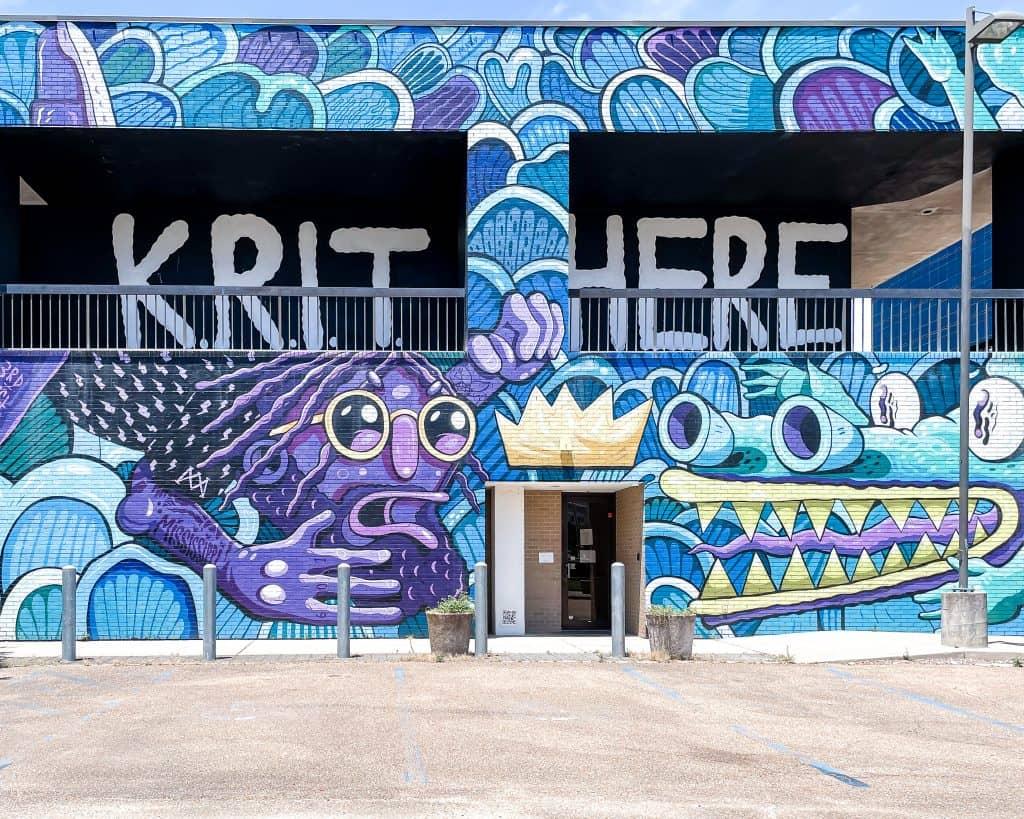 Mississippi - Jackson - Krit Here Mural