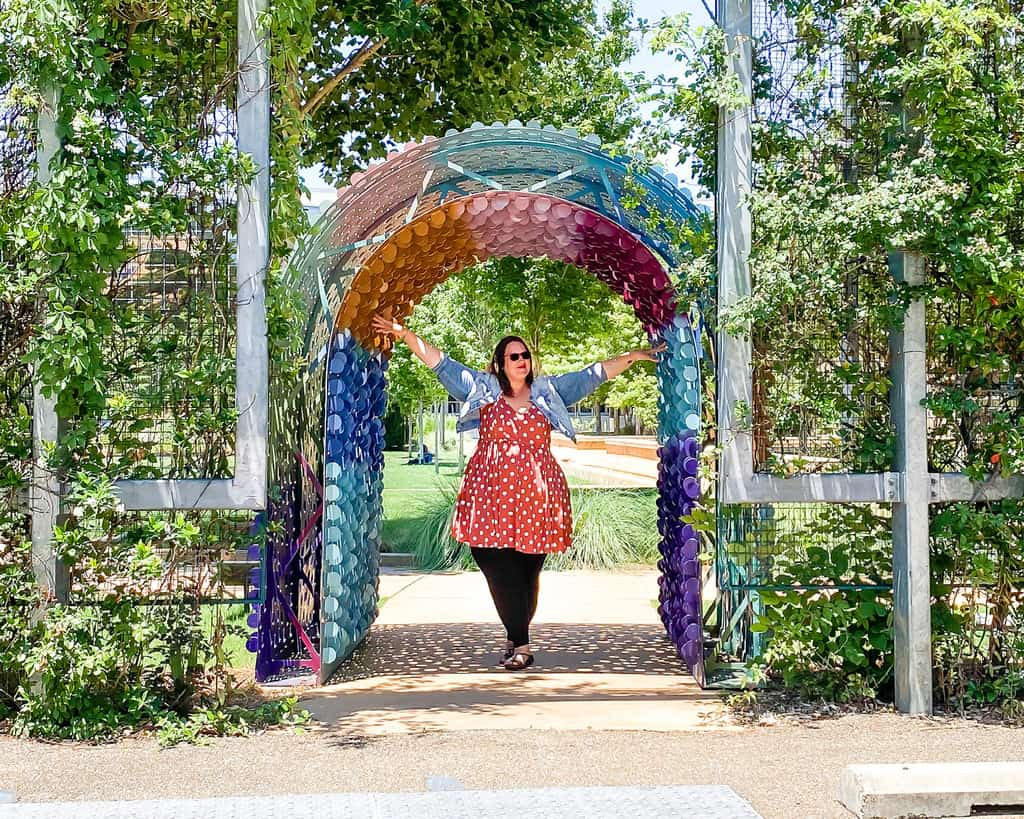 Mississippi - Jackson - Mississippi Museum of Art Art Garden - Stephanie