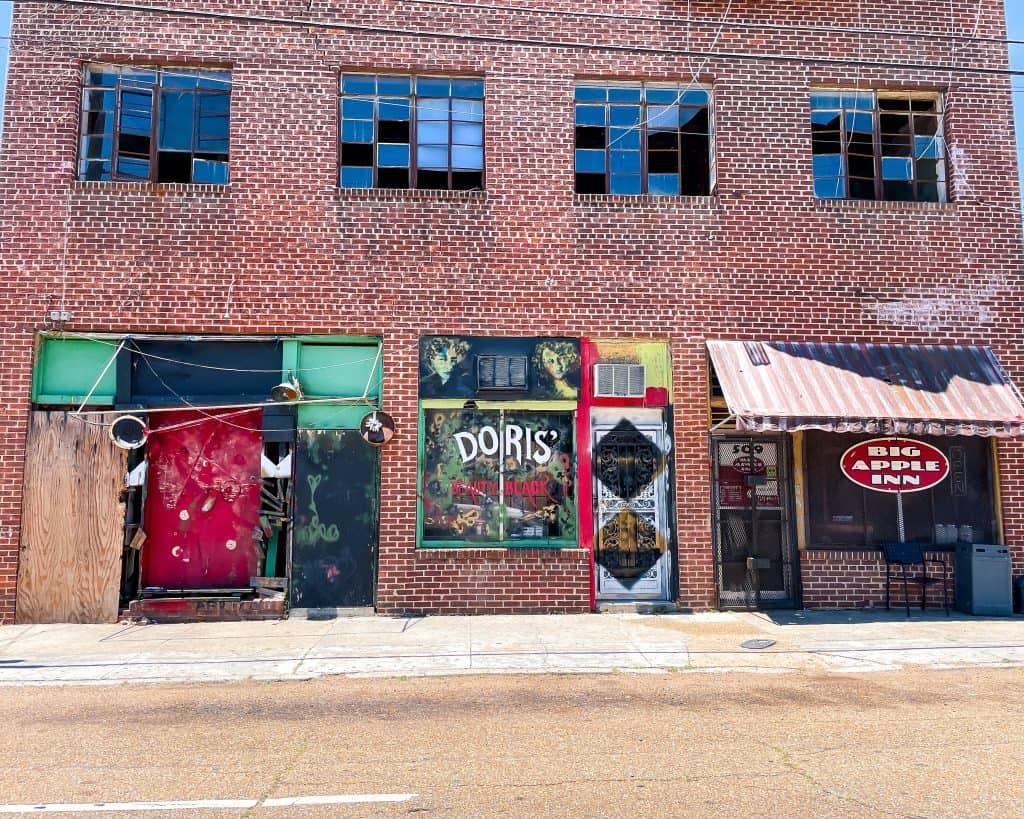 Mississippi - Jackson - Farrish Street Historic District - Big Apple Inn