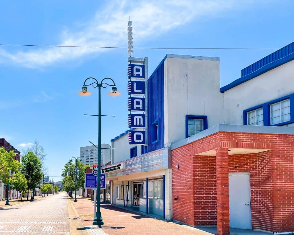 Mississippi - Jackson - Farrish Street Historic District - Alamo Theatre