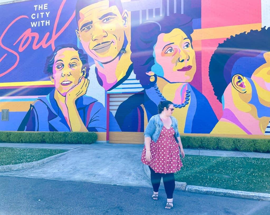Mississippi - Jackson - JXN Icons Mural - Jackson Icons Mural - Eudora Welty - Richard Wright - Stephanie