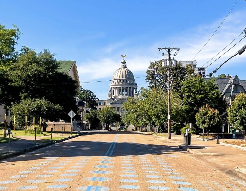Mississippi - Jackson - Mississippi State Capitol Building