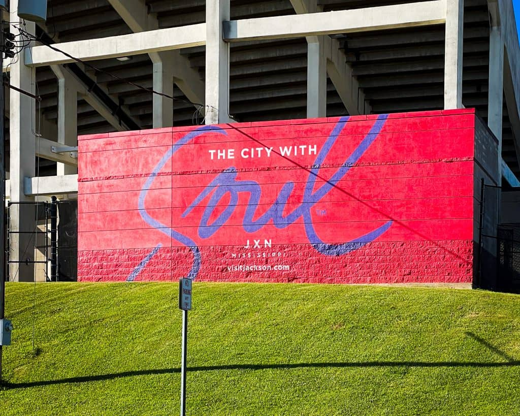 Mississippi - Jackson - The City with Soul Mural