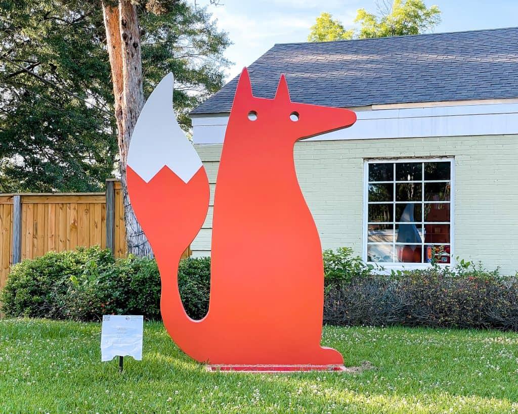 Mississippi - Jackson - Fox Public Art Midtown