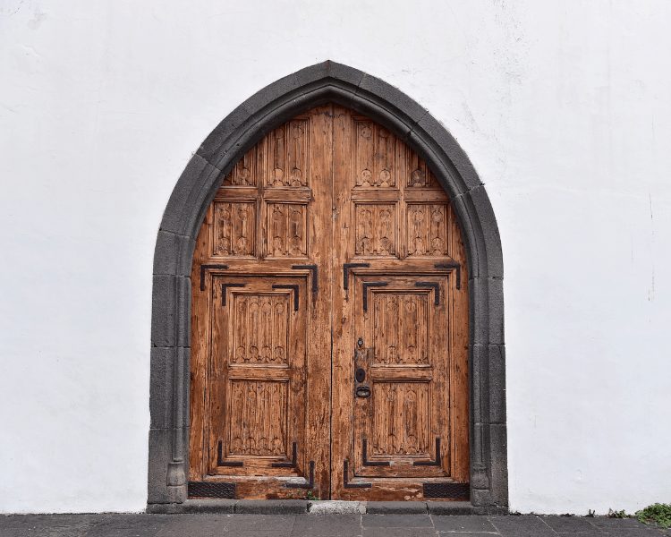 Portugal - Madeira - A door in Old Town Funchal