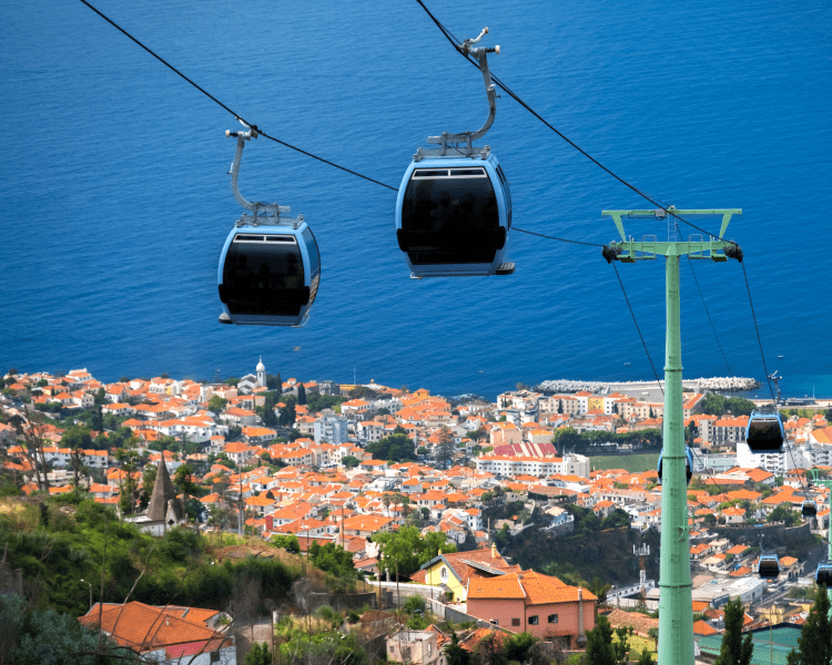 Portugal - Madeira - Funchal Cable Car