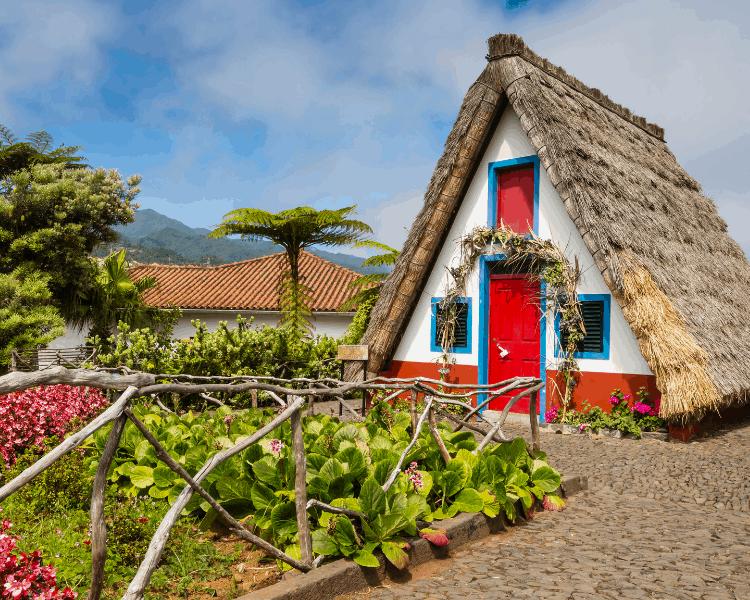 Portugal - Madeira - House in Santana