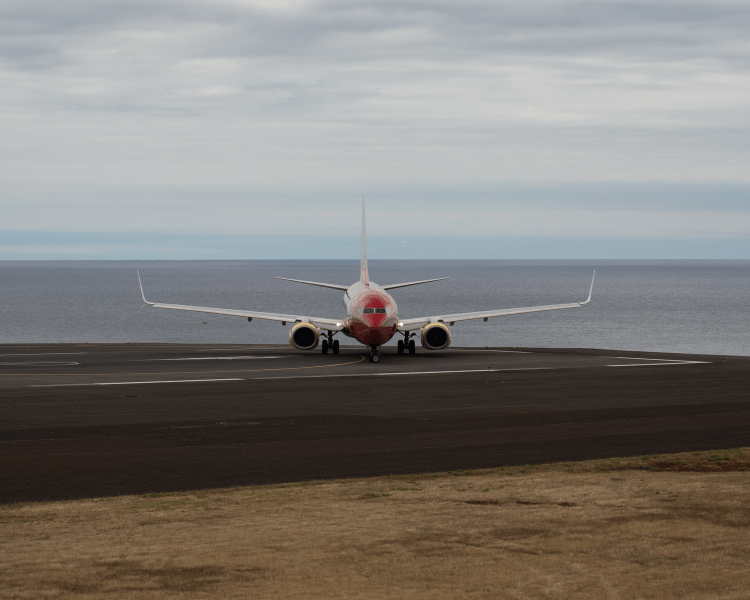 Portugal - Madeira - Plane at Madeira Airport