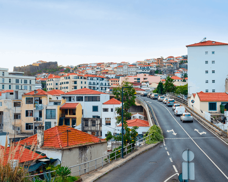 Portugal - Madeira - Streets of Funchal
