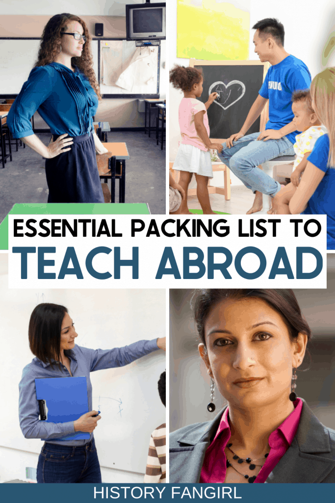 What to Pack to Teach Abroad - Teach Abroad Packing List