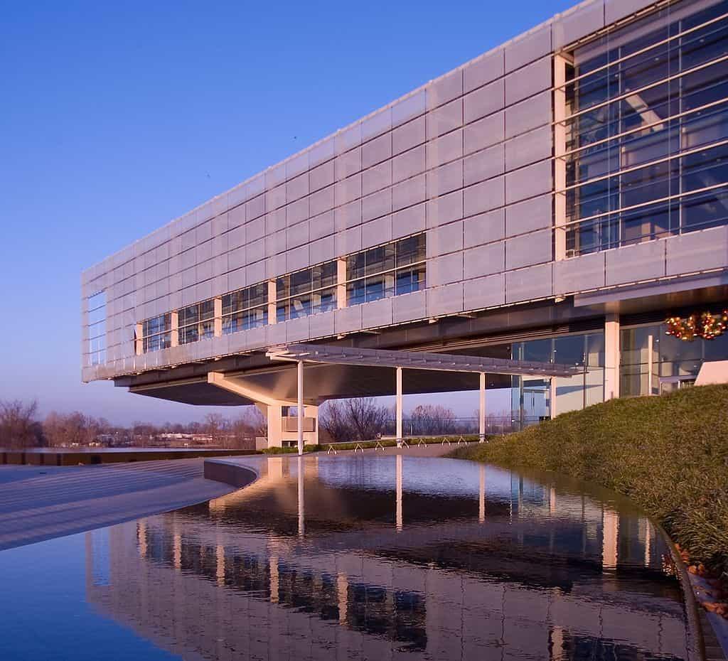 Clinton Presidential Library in Little Rock, Arkansas
