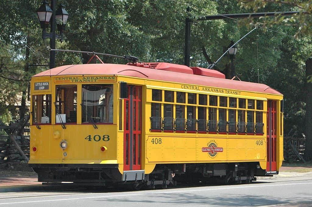 Arkansas - Little Rock - Metro Streetcar - Vintage Streetcar