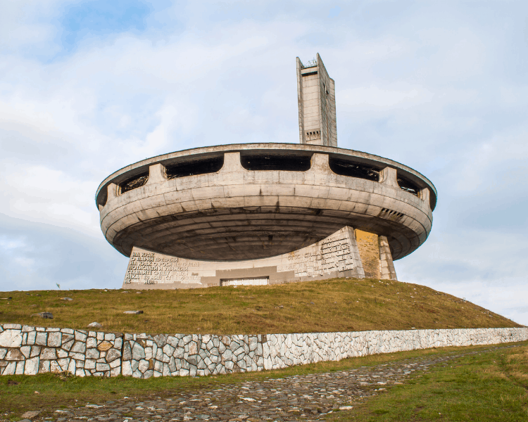 Best Places to Visit in Europe - Buzludzha