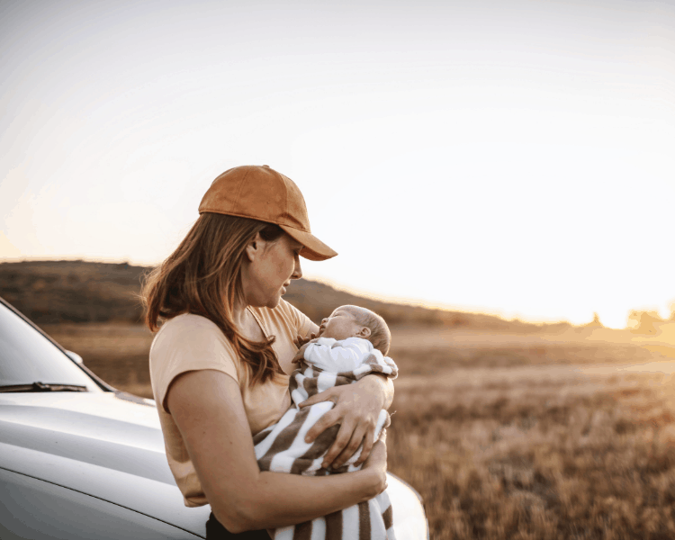 Breastfeeding on a Road Trip - Stopping to Breastfeed on a Road Trip