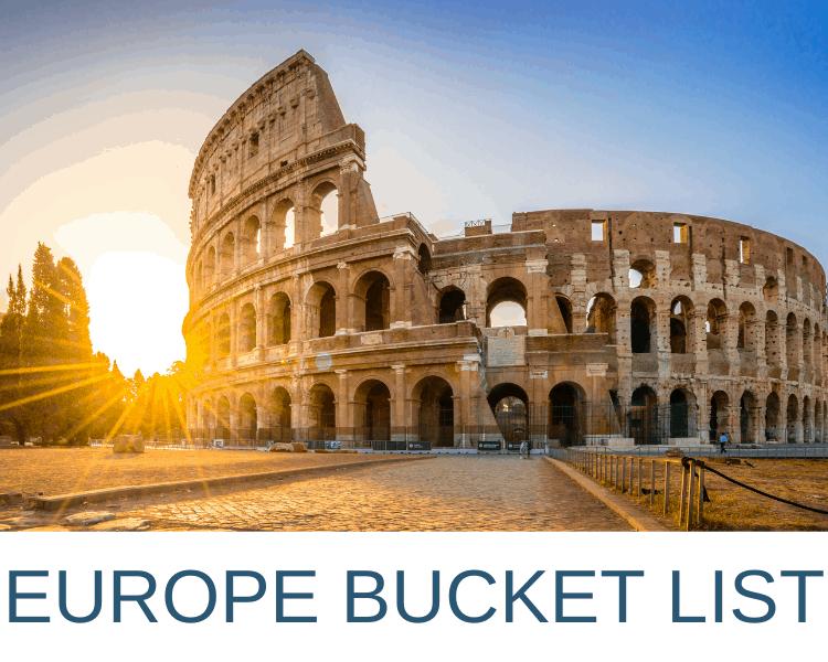 Europe-Bucket-List