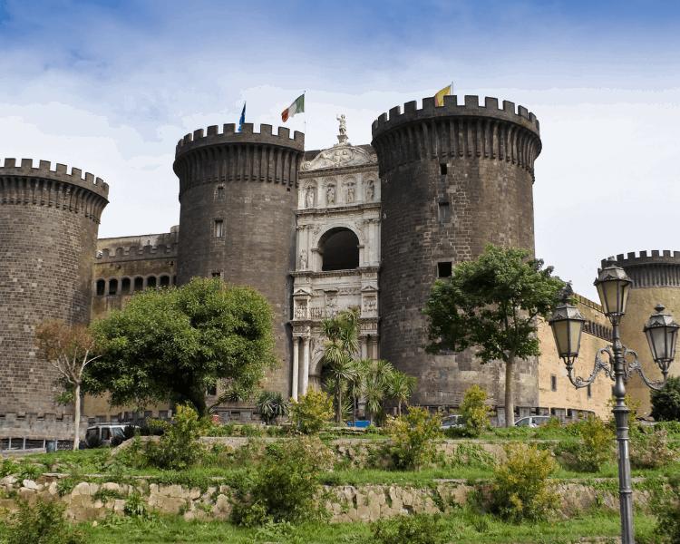 Italy - Naples - Castel Nuovo-2
