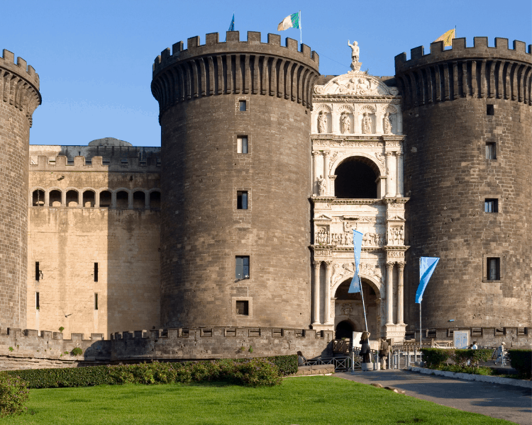 Italy - Naples - Castel Nuovo