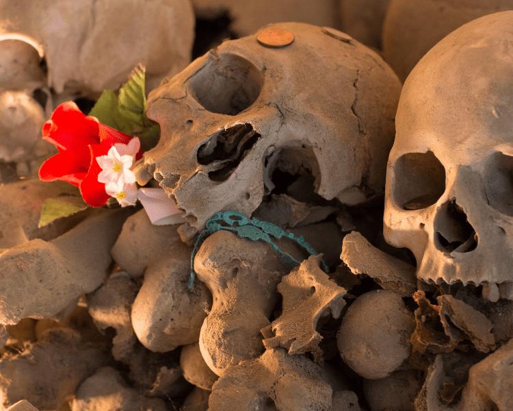 Italy - Naples -Catacombs