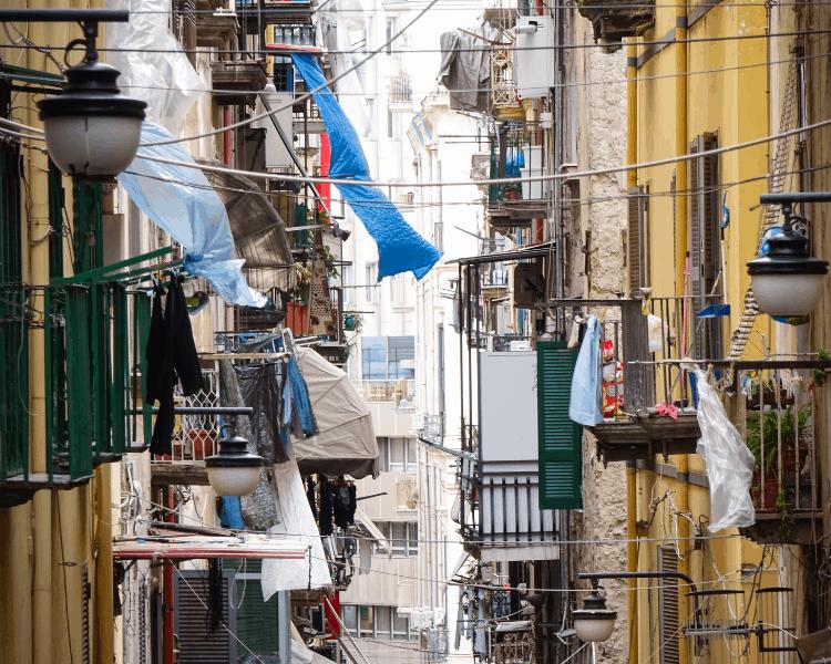 Italy - Naples - Quartieri Spagnoli