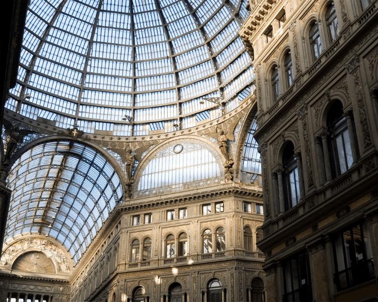 Italy - Naples - Galleria Umberto