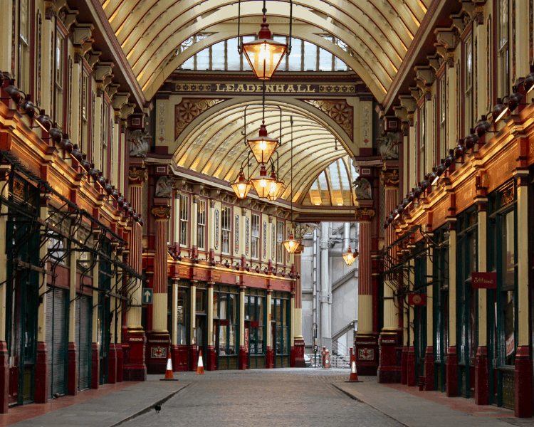 Leadenhall Market in London-2