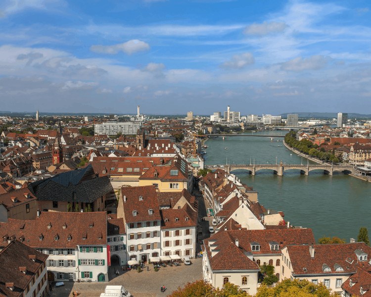 Switzerland - Basel - How to enjoy a weekend in Basel - View of the Rhine River