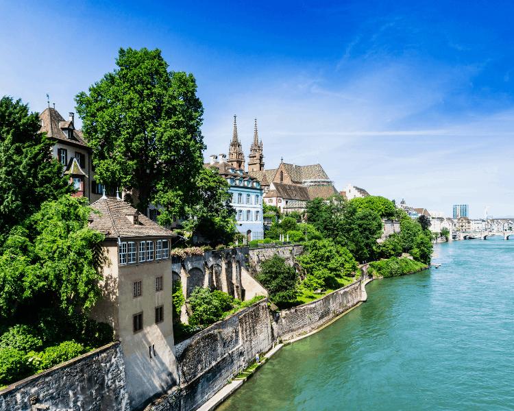 Switzerland - Basel - Rhine River