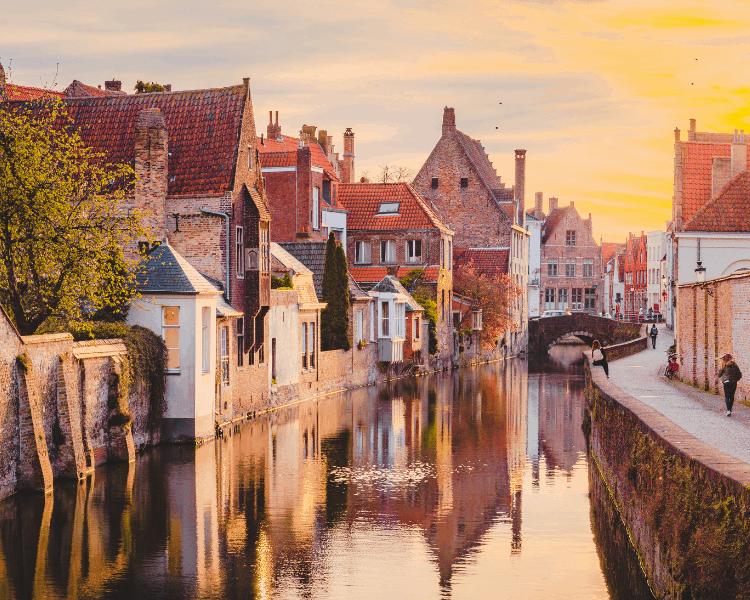 UNESCO World Heritage City of Bruges Belgium