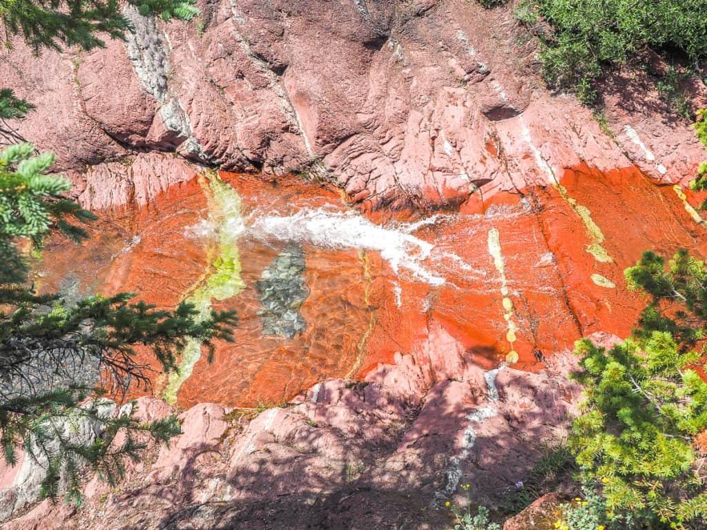 Candada - Alberta - Waterton Lakes National Park - Red Rock Canyon